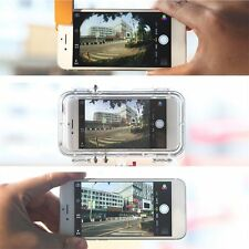 Waterproof Extreme Sports Case Cover 170 Degrees Wide Angle Lens for iPhone 6 XL