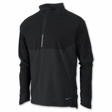 new $130 nike sphere DRY 1/2 ZIP RUNNING PULLOVER ANTHRACITE 519785-010 MENS S