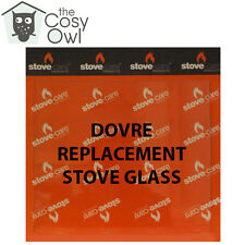 Dovre Replacement Stove Glass - Heat Resistant Glass For Dovre Stoves