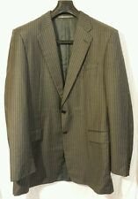 Hickey Freeman Ing. Loro Piana Tasmanian Super 130s Blazer Mens Size 44 Long EUC
