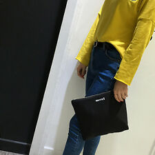 Simple and Stylish Fashion Designed Envelope Canvas Clutches Bag Women's Bag LO