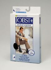 Jobst for Men 15-20 mmHg Moderate Support Closed Toe Knee Highs