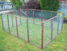 12 aviary panels run Chicken Kennel Duck Rabbits Guinea pigs Cage Cat Dog