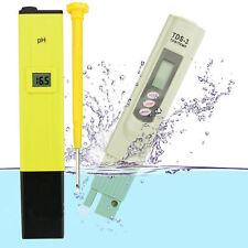 Digital LCD PH Meter TDS EC Water Purity PPM Filter Hydroponic Pool Tester TY