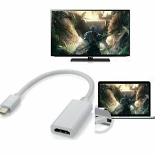 New Mini DisplayPort DP to HDMI Adapter Cable Cord for MacBook Pro iMac Air LO