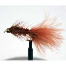 Aventik Wooly Bugger Brown Flies Dry Trout Fly Flies Various Size Fish Flies