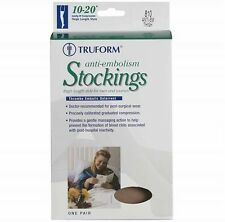 Truform Anti-Embolism Open Toe 18 mmHg Thigh High Support Stockings