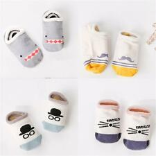 Lovely Infant Toddler Non-Slip Baby Boy Girl Short Soft Sock Cotton Cartoon Gift