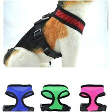 Adjustable Pet Control Harness Dog Cat Puppy Walk Collar Safety Strap Mesh Vest