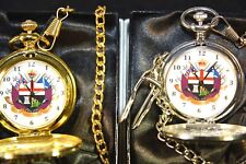 APPRENTICE BOYS OF DERRY POCKET WATCH SILVER/GOLD WITH or WITHOUT ENGRAVING