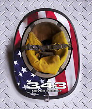 343 Never Forget USA Fire Helmet Skin