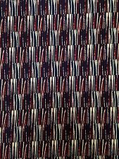 Abstract Geo Lines Pattern on Stretch ITY Knit Jersey Polyester Spandex Fabric