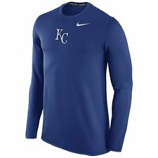 Kansas City Royals Mens Nike Waffle Thermal Tee - MSRP $65 - FREE SHIPPING!