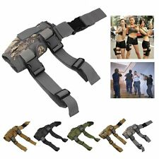 Adjustable Pistol/Gun Drop Hike Puttee Leg Thigh Holster Pouch Holder Waterproof