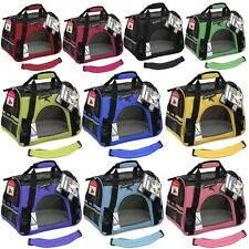 Large Pet Carrier Dog Comfort Travel Tote Crate Cage Kennel Cat Portable Bag