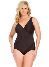 Miraclesuit Oceanus One Piece Swimsuit DDcup underwire 451688DD BNWT 12,14,18,20