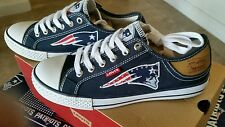 New England Patriots Levis Canvas Womens  Sneakers