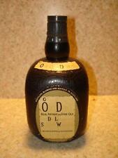 ~VINTAGE GRAND OLD DAD SCOTCH WHISKEY BOTTLE TRANSISTOR RADIO STILL WORKS ~