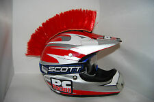 PC Racing Motorcycle Helmet Mohawk Mohawk -9 colors to choose!