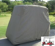 Golf Cart Cover Slipon 4 Passenger Car Storage Zippered Vents Hem Yamaha Club
