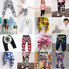 Infant Boys Girls Cartoon Animal Long Leggings Pants Trousers PP Bottoms Clothes