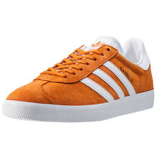 adidas Gazelle Womens Trainers Orange White New Shoes