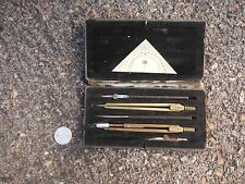 "ANTIQUE SET OF ""SCHOLA RICHTER"" DRAFTING TOOLS -ARCHITECTURAL ENGINEERING"