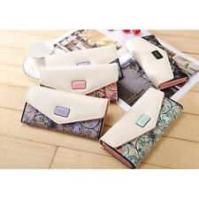 Ladies Wedding Bags Evening Womens Floral Envelope Clutch Bag Purse with Chain
