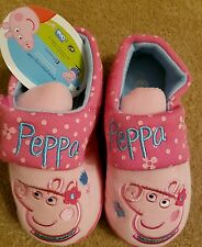 NEW GIRLS OFFICIAL Peppa Pig CHARACTER NOVELTY SLIPPERS UK SIZE 5-10  Christmas