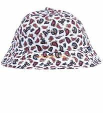 Crooks and Castles Elis Paisley Hat in White