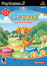 Konami Kids Playground Toy Pals Fun With Numbers PS2  Brand New - Fast Ship