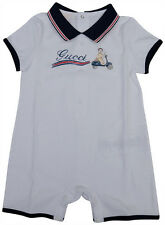 NWT NEW Gucci baby boys shortall romper car print playsuit 6/9m