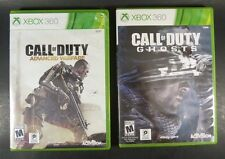 Call of Duty Advanced Warfare AND Ghosts - Xbox 360