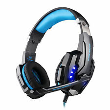 New Player Game MIC LED Light Headset Cell Phone Headset For 3.5mm Jack PS4