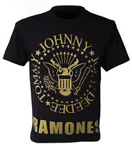 -- T shirt THE RAMONES -- Johnny, Joey, Dee Dee, Tommy, Retro, Size S to XXL