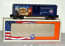 LIONEL 82699 ANGELA TROTTA THOMAS LIONELVILLE CHRISTMAS BOXCAR -2015 MADE IN USA
