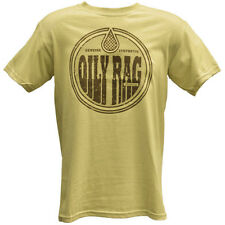 Oily Rag Clothing Genuine Oily Rag Motorcycle Casual T-Shirt - Tan