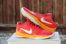 "DS Nike Zoom Kobe V ""China"" Comet Red/White-Del Sol Sz 11 ""IRONMAN"" (386429-600)"