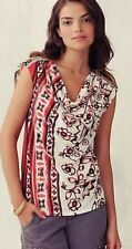 Anthropologie Pergola Cowlneck XS, S, L Floral Print Oversized Tee Top By C Keer