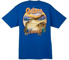 Guy Harvey University of Florida Gators T-Shirt w/Free Decal----Brand New---