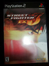 Street Fighter EX3 (Sony PlayStation 2, 2000) Ps2 Complete