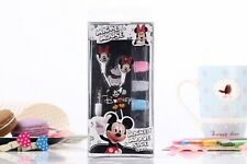 New Cartoon Earphone Minnie Mickey Mouse Headset Kids Children Earbuds With Box