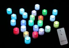 1PC Cool Red/Yellow Color LED Flameless Tealight Electronic Candles Lights CL07