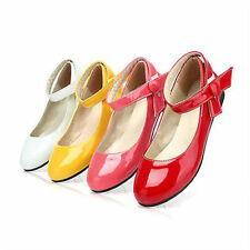 Womens Patent Leather Mary Janes Flat Ballet Platform Oxfords Pumps Shoes US Sz