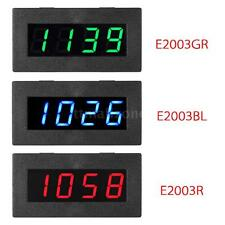 4 LED Digital Frequency Tachometer Speed Meter RPM Tester 5-9999R/M DC8-15V C5P3
