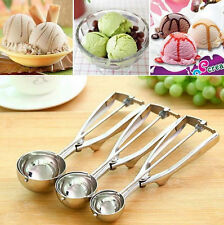 Spoon Ice Cream Craft Cookie Dough Scoop Mash Stainless Steel 4/5/6cm Muffin