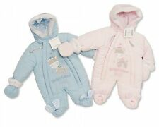 Baby Snowsuit Pramsuit Boys Girls - Sizes Newborn or Tiny Baby (Premature) -1600
