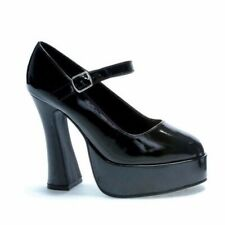 Womens Black Patent Mary Jane Shoe