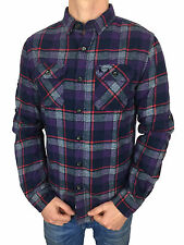 SALE £38.50 // Superdry Mens Refined Lumberjack Night Grindle Check Shirt in XXL
