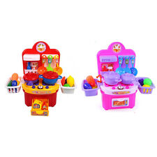 New KIDS KITCHEN COOKING ROLE PLAY PRETEND TOY CHILDRENS COOKER GAME SET
